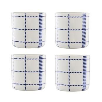 Normann Copenhagen - Mormor Blue 4 Tassen - weiß/4 Stück