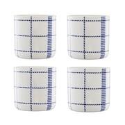 Normann Copenhagen - Mormor Blue - 4 Tasses
