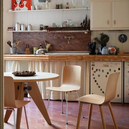 Vitra - Hal Ply Wood Stuhl