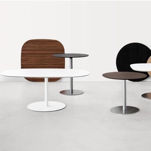 la palma - Rondo 90 Tisch höhenverstellbar