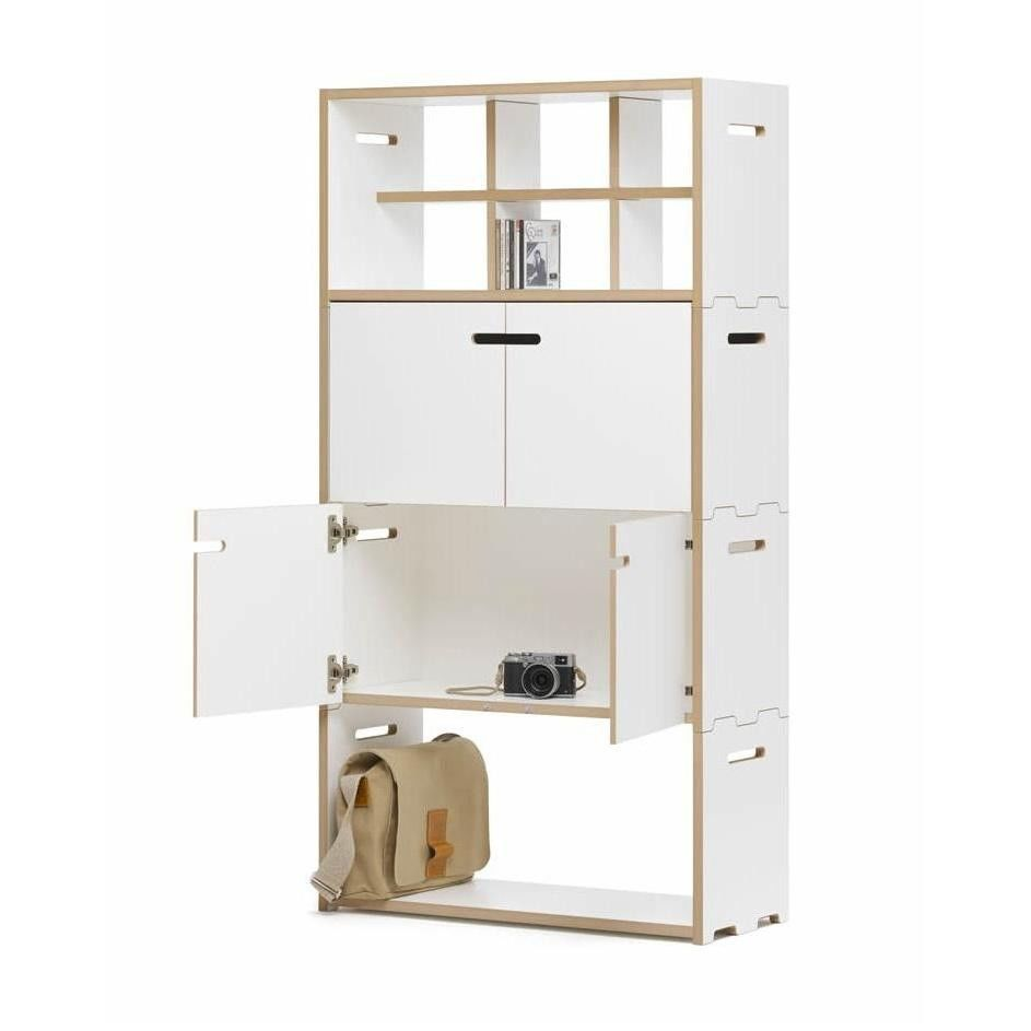 hochstapler tag re avec portes 76x144cm tojo. Black Bedroom Furniture Sets. Home Design Ideas