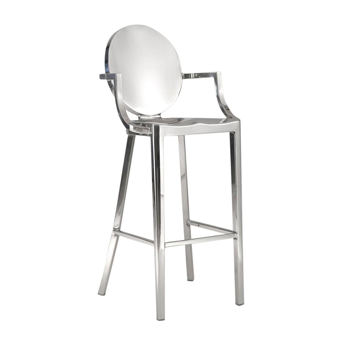 emeco kong barhocker mit armlehnen ambientedirect. Black Bedroom Furniture Sets. Home Design Ideas