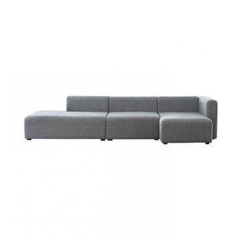 - Mags Lounge Sofa Chaiselongue rechts - hellgrau/Stoff Halingdal 130/304x127.5x67cm