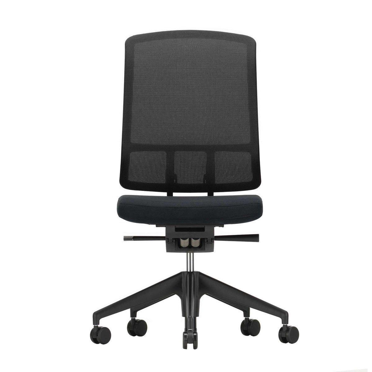 Am chair chaise de bureau sans accotoirs vitra for Chaise de bureau vitra prix