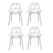 Magis - Chair One Stacking Chair Set Of 4