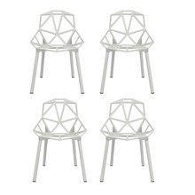 Magis - Chair One Stuhl stapelbar 4er Set