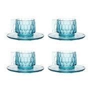 Kartell - Jellies Family - Set de 4 tasse avec soucoupe