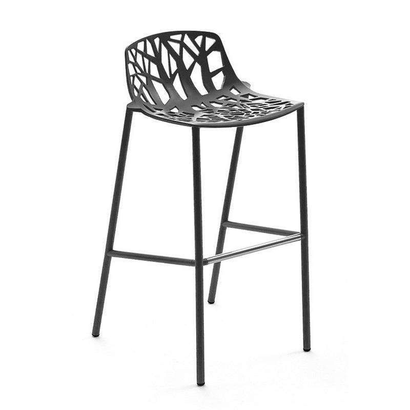 Fast forest outdoor bar stool 65cm ambientedirect - Tabouret de bar pour exterieur ...