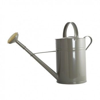 - House Doctor Gießkanne - grau/glänzend/10 Liter/H:45cm