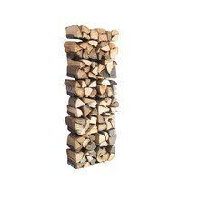 Radius - Wooden Tree Firewood Shelf