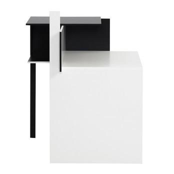 ClassiCon - De Stijl Beistelltisch - schwarz/weiß
