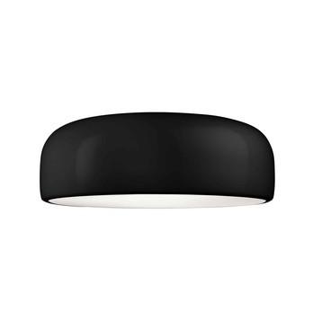 Flos - Smithfield C LED Deckenleuchte - schwarz/glänzend/H:21.5 x Ø60cm/2700K/2720lm