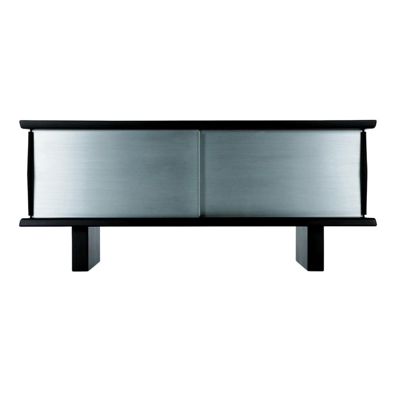 Genial Sideboard Mit Füßen Sammlung Von Cassina - 513 Riflesso - Schwarz/bordeaux/aluminium/mit Hohen