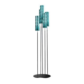Slamp - Dimple Floor Penta Stehleuchte - smaragdgrün/glänzend/H172cm x B40cm/mit Dimmer