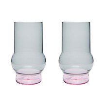 Tom Dixon - Bump Glas hoch 2er Set