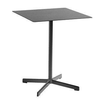 HAY - Neu Tisch quadratisch 60x60cm - kohlenschwarz/H 74cm/für Innen- und Außerbereich geeignet