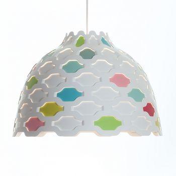 Louis Poulsen - LC Shutters Pendelleuchte - weiß/rot/blau/grün/gelb/pink