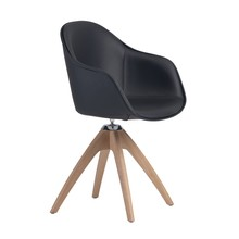 Alias - Silla con reposabrazos 07F New Lady Soft Wood