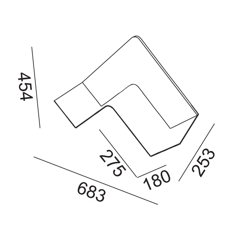 B line fishbone wall shelf ambientedirect b line fishbone wall shelf line drawing ccuart Images