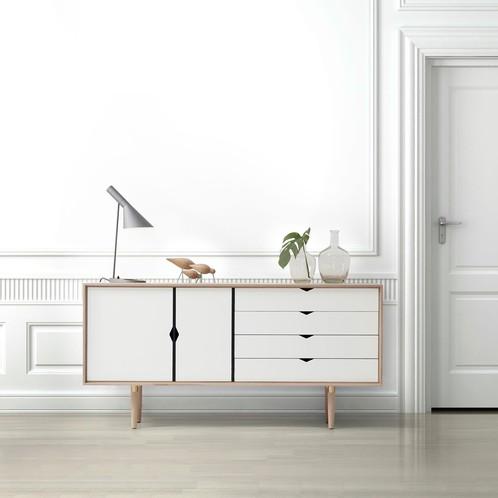 Andersen Furniture - Andersen Furniture S6 Sideboard Fronten weiß