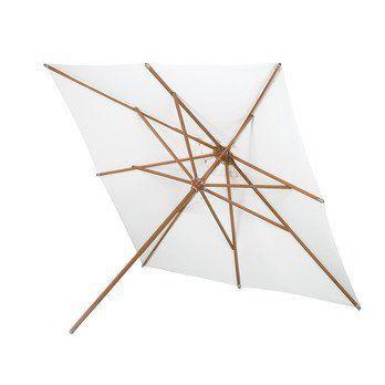 Skagerak - Messina Sonnenschirm 300x300cm - natur/Gestell Holz/Stange Ø 4,8cm/H: 270cm