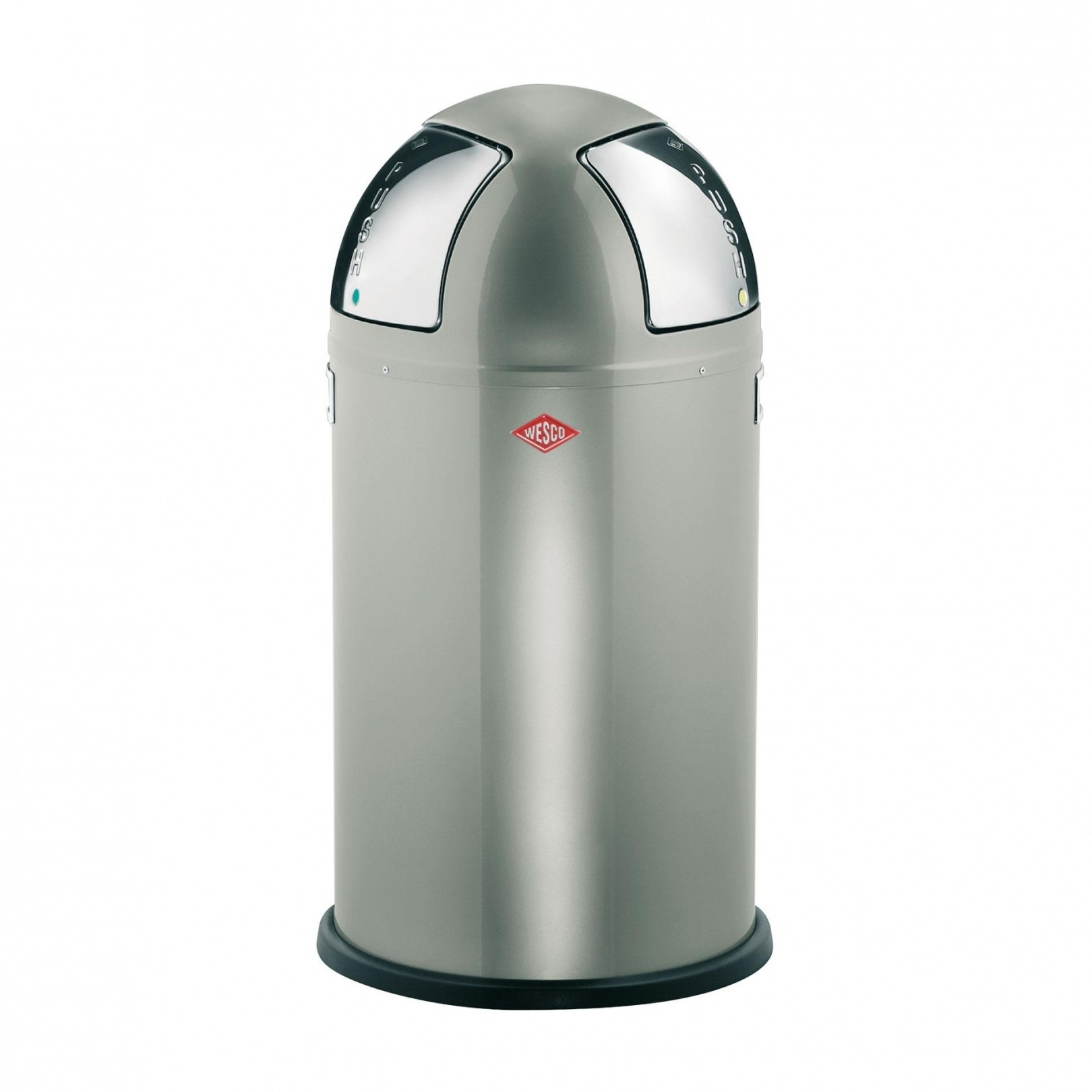 Wesco Pushboy Zilver.Push Two Push Can 50l