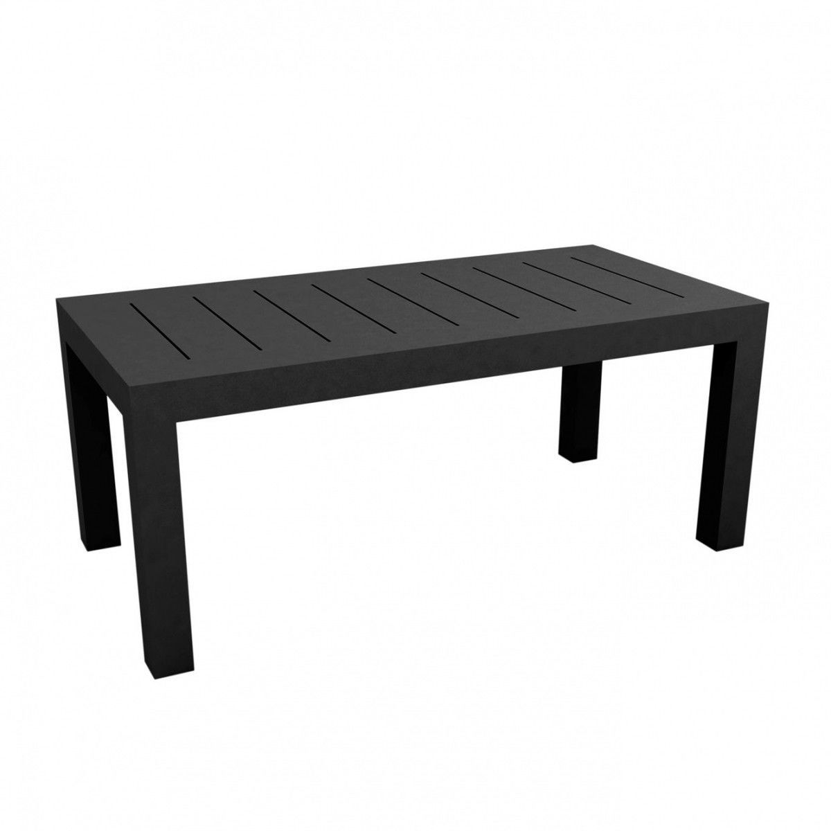 jut table 180cm vondom meubles de jardin en plastique. Black Bedroom Furniture Sets. Home Design Ideas