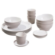 Alessi - Tonale - Lot de petit déjeuner de 16 pièces