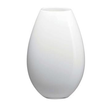 Holmegaard - Cocoon Vase 26cm - weiß