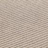 GAN - Garden Layers Diagonal Teppich 180x240cm - mandel-elfenbein/Handwebstuhl