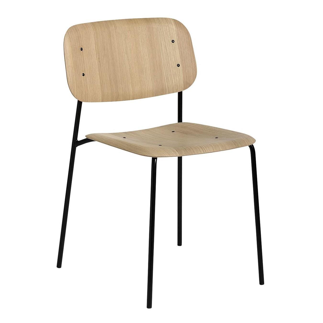 Soft Edge 10 Stuhl Gestell Stahl schwarz
