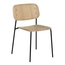 HAY - Soft Edge 10 stoel onderstel staal zwart