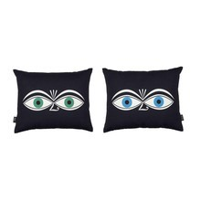 Vitra - Graphic Print Pillow Eyes Kissen