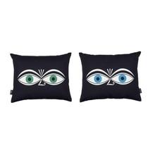Vitra - Graphic Print Pillow Eyes Kissen