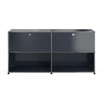 Usm Möbelbausysteme Usm Sideboard Mit 2 Klapptüren Oben Ambientedirect