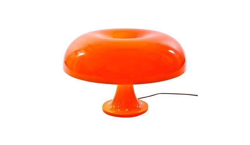 Artemide   Nesso Table Lamp   Orange/plastics/diffuser Orange/H 34cm/ ...