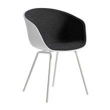HAY - About a Chair AAC 26 Armchair Upholstered White Steel Base