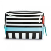Remember - Black Stripes Washbag Kulturbeutel S