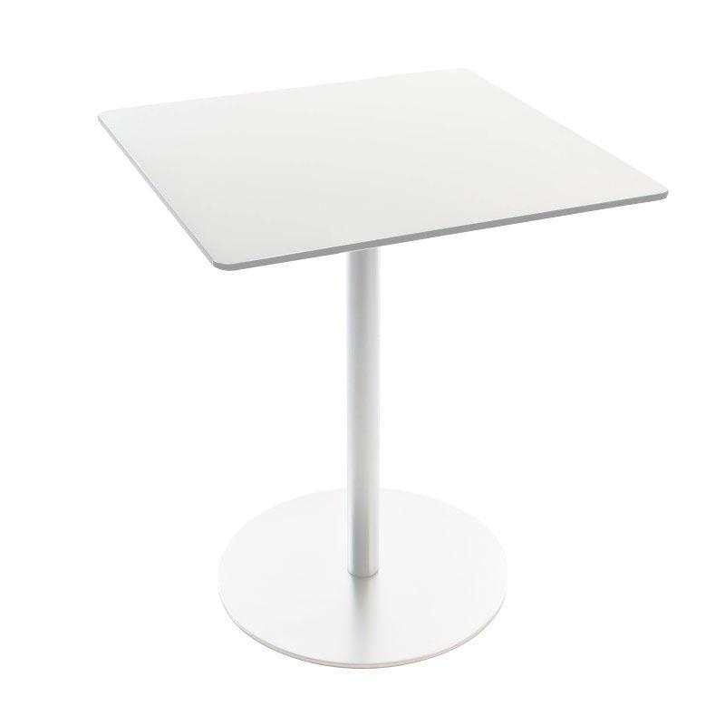 La Palma   Brio Fix 72 Bistro/Coffee Table Frame White Square   White/