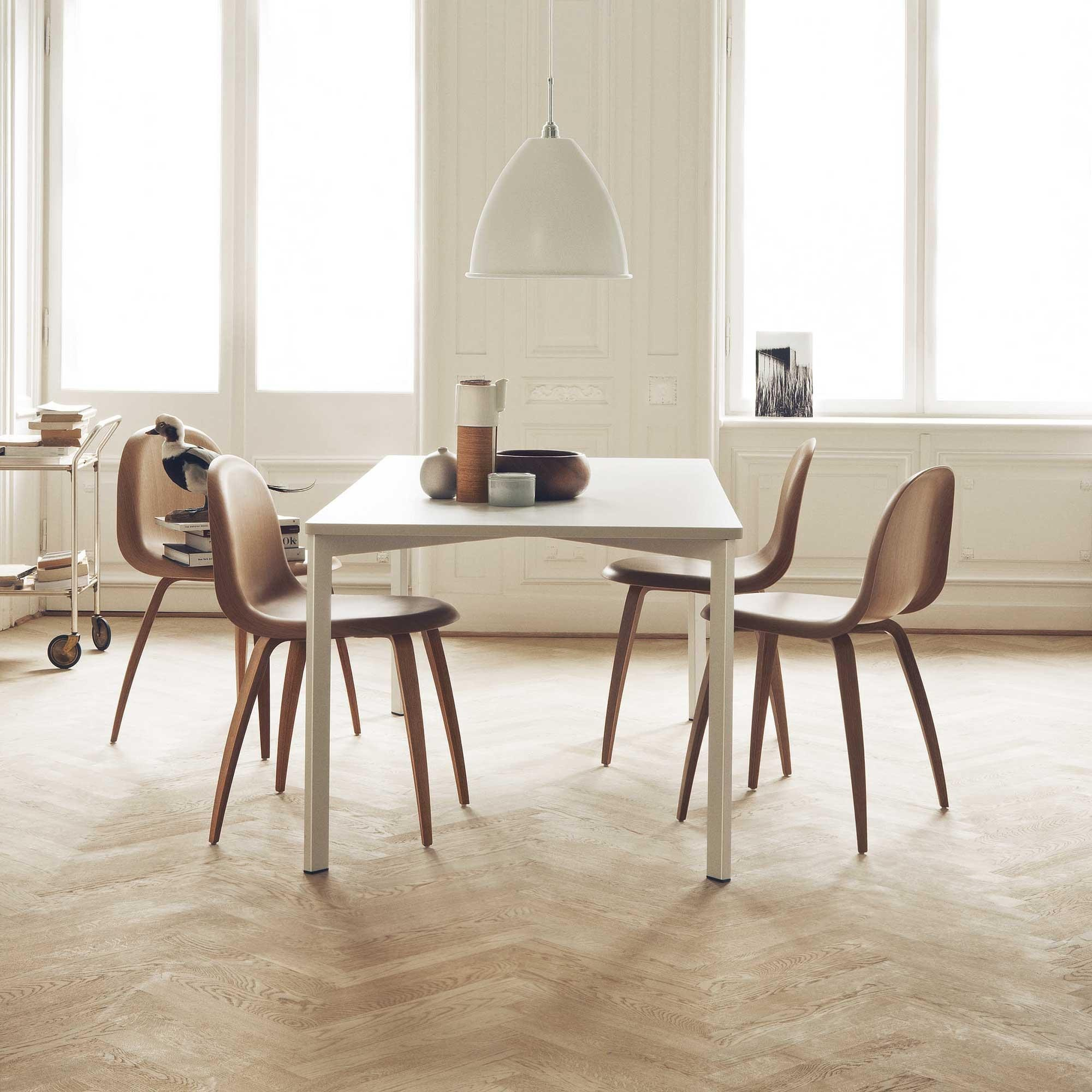 3D Dining Chair Gestell Eiche