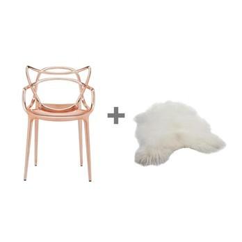 kartell aktionsset masters stuhl fell ambientedirect. Black Bedroom Furniture Sets. Home Design Ideas