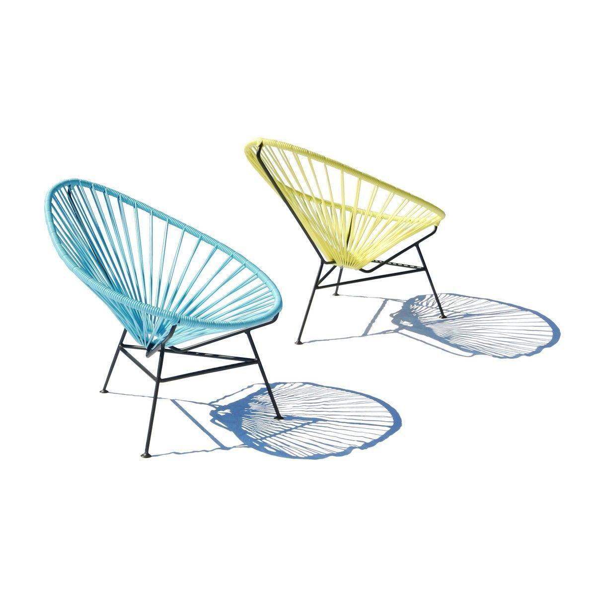 Acapulco mini chair fauteuil enfant ok design - Mini fauteuil enfant ...
