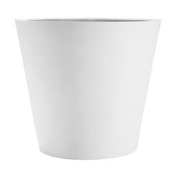amei - amei Pflanzgefäß Der Runde XL - weiß/ø70cm