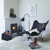 cuero - Leather Mariposa Butterfly Chair Sessel