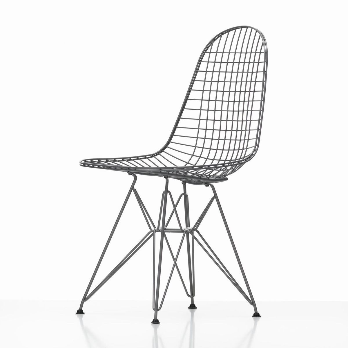 Eames wire chair dkr 43cm vitra for Chaise eiffel eames