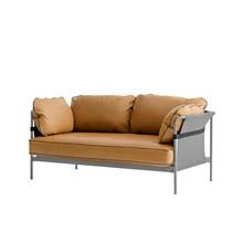 HAY - Can 2-Sitzer Sofa Gestell dusty grey