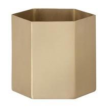 ferm LIVING - Hexagon Pot Large Aufbewahrungsbehälter
