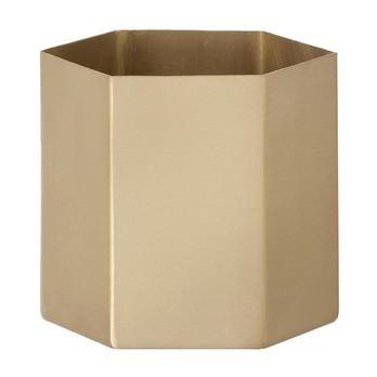 ferm LIVING - Hexagon Pot Aufbewahrungsbehälter