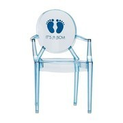 Kartell - Lou Lou Ghost Children's Chair with Motive
