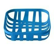 Muuto - Muuto Wicker Brotkorb - blau/matt/22x22x6cm